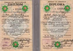 Нострификация диплома Узбекистан Украина Казахстан СНГ Срочно  Дипломы нострификация
