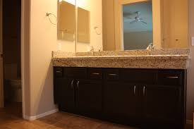 Raise the height of your bathroom counters