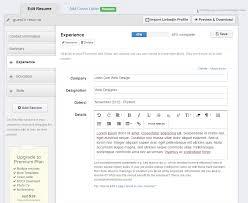 Resume Creator Online For Free Resume Online Builder