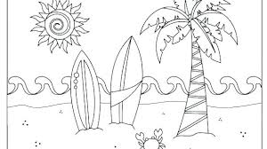 Summer Colouring Pages Pdf Printable Coloring Page For Kids
