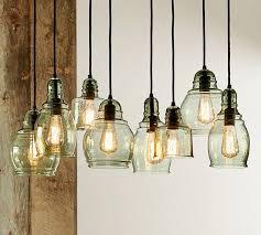 multi colored glass pendant lights hand blown glass lighting