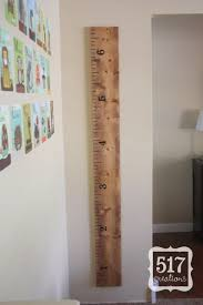 A Lovely Ruler Growth Chart Thats A Pb Knock Off Diy Diy