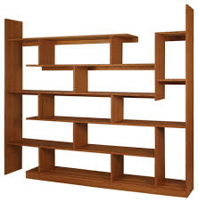 Bamboo Stagger Major, Amber contemporary-bookcases