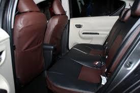 photo3 toyota prius c aqua genuine rhd like leather seat covers nhp10 jdm 2016