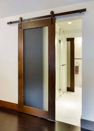 frosted glass bath panels. barn door, frosted glass replace all regular doors bath panels