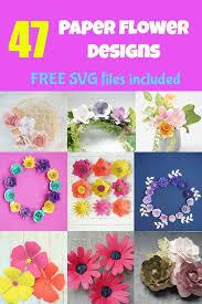 Coronavirus , summer , cricut svg , silhouette , svg cut file. 47 Free Cricut Paper Flower Mega Bundle Cut Files Domestic Heights
