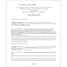 Doctor S Statement For Work Doctors Note For Work Texas Nenne Co