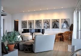 recessed lighting in living room