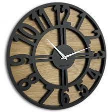 large wall clock arabic loft 50cm 20in