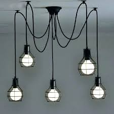 hanging pendant light cord kit lighting ideas fixture parts fitting white cable set several meter long