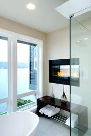 electric fireplace bathroom heaters wall mount