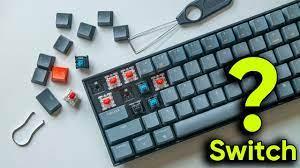 Bàn phím Cơ có Switch ĐỘC - LẠ!!! - Pin tận