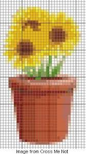 Free Chart Sunflowers Craft Gossip