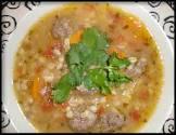 barley albondigas  meatball  soup