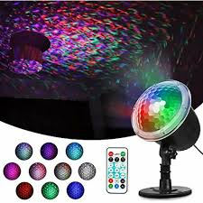 Ocean Lighting Returns Zeonetak Colorful Automatically Moving Water Ocean Wave Led Projector Light For