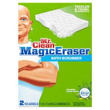 mr clean magic eraser bath scrubber 2 pack