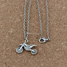 whole motorcycle charms pendant necklaces ancient silver jewelry diy 18 inches chains clavicle necklace a 281d cute pendant necklaces diamond heart