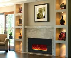 electric fireplace wall units inch unit electric fireplace built into wall units