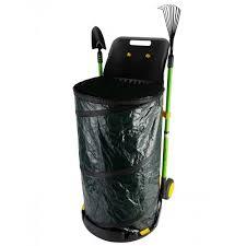 garden bag. GOLDEN MOON Leaf Bag Pop Up Lawn With One Scoop Reusable Collapsible Garden