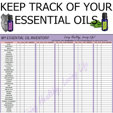 Essential Oils Chart Printable Printable Essential Oil Charts My Essential Oil Inventory