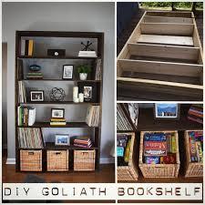 Diy Bookshelf No Tools How To Make Shelf Out Cardboard Boxes