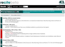 Free Apa Format Checker Recite Apa And Harvard Citations Checked Instantly