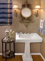 pedestal sink small bathroom ideas