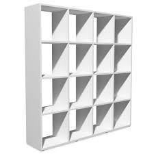 vidaxl bookshelf 138 5x29x142 5 cm white wall