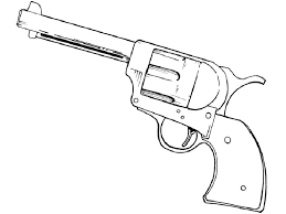 Only Guns Coloring Pages