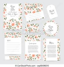 Save The Date Cards Template Vector Save The Date Cards Big Collection