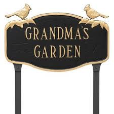 Decorative Metal Yard Signs Garden Signs Plaques You'll Love Wayfair 25