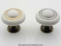 kitchen cabinet knobs porcelain knobs dresser knob drawer knobs pulls  handles white ceramic gold silver furniture