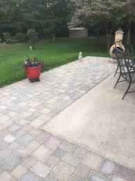 xenia paver patio extension patio