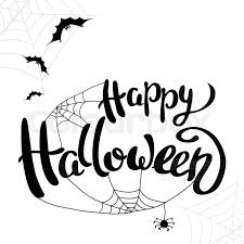 Halloween Template Happy Halloween Template For Banner Or Stock Vector Colourbox