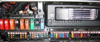 fuse and relay box diagram bmw e bmw e60 blok salon 2