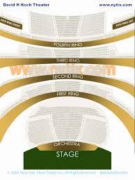 Nyc Ballet Seating Chart Beautiful Lincoln Center David H
