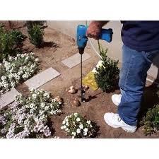 garden auger drill bit. Image Is Loading Auger-Drill-Bit-Attachment-Yard-Hole-Digger-Garden- Garden Auger Drill Bit