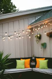 hanging patio lights. How To Hang Indoor String Lights Indoors Hanging Outdoor Patio Lighting Galvanized Steel Cable For Backyard .