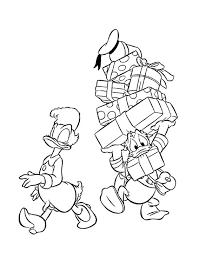 Kleurennu Donald Duck Sjouwt Kleurplaten