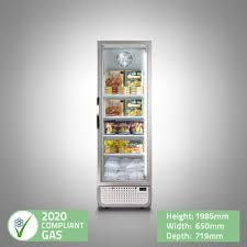 display freezer single door pro