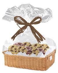 clear cellophane basket bags 30 x 40