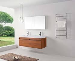 55 inch double vanity. Interesting Vanity Virtu USA JD50355PL 55Inch Zuri Double Sink Bathroom Vanity With 55 Inch Vanity I