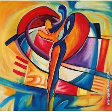 Tableau art déco RIabstract134 tableau Tableaux Musique Arts ...