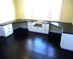 office desk for 2.  Desk 2 Person Desk For Home Office Long Corner Two    Intended Office Desk For W