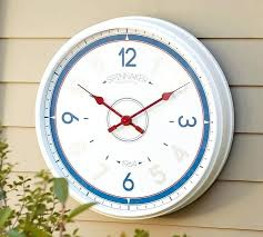 outdoor wall clocks outdoor wall clocks with temperature and humidity large outdoor wall clocks uk