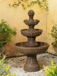 outdoor garden fountain. Outdoor Garden Fountain Testing Your For Cracks. «« S