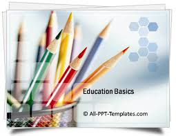 Powerpoint Backgrounds Educational Powerpoint Education Basics Template