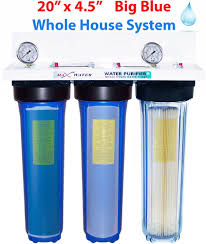 House Water Filter Max Water 3 Stage 20x45 Big Blue 1 Whole House Water Filter 2