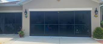 garage door screen installation