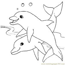 Small Picture Dolphin Coloring Pages PdfColoringPrintable Coloring Pages Free